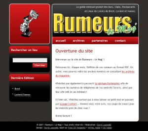 Rumeurs : Le Mag'