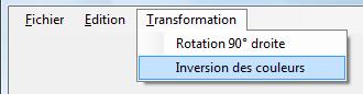Exemple d'interface - Evaluation de chaine